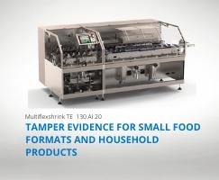 La Machine de conditionnement pour vos opérations de sécurisation de petits produits alimentaires et de la maison à l'horizontal