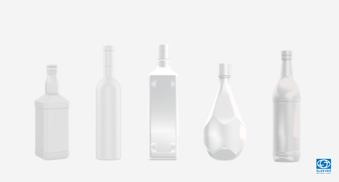 Shapes of Glass Bottles and Carafes' that can be applied a Shrink Sleeve label