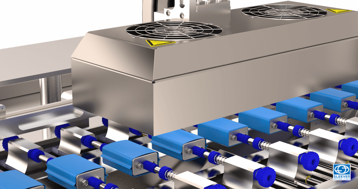 Un applicateur de rétreint facilement adaptable à de multiples réglages