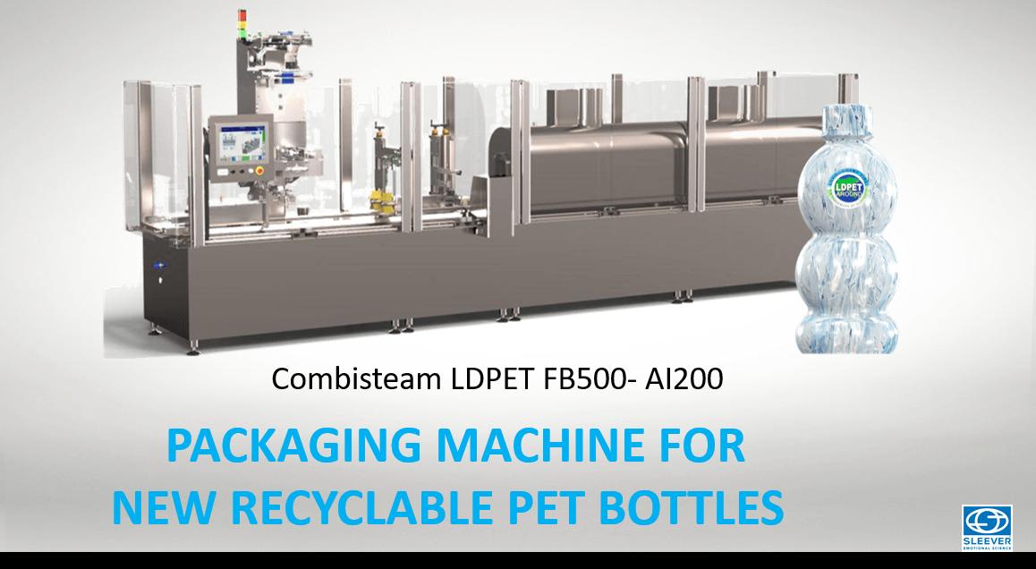 La Machine de conditionnement pour étiqueter vos bouteilles recyclables PET