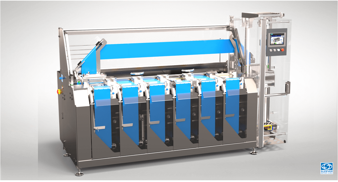 A Multi-reel magazine increases the autonomy of your operators while ensuring a continuous flow of Sleeve Labels
