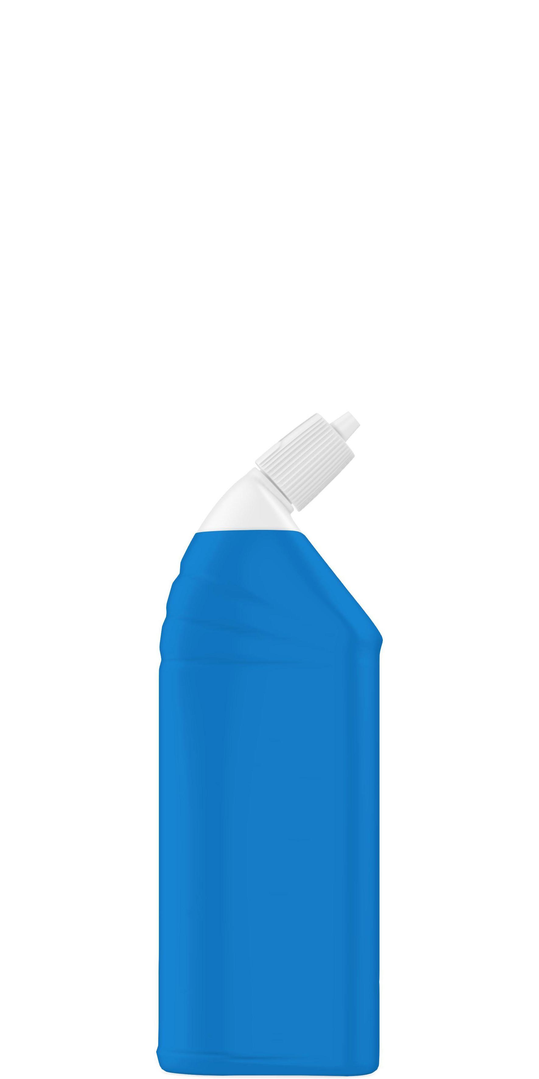 Forme emballage nettoyants sanitaires 700ml à 1L