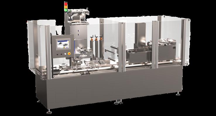 Sécurité et Flexibilité garantit pour vos opérations de sécurisation de produits avec la Machine Combishrink TE150
