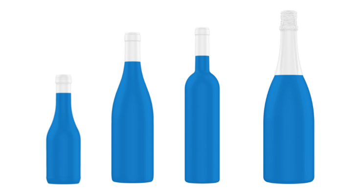 Wine and Spirit's products' Containers' Shapes