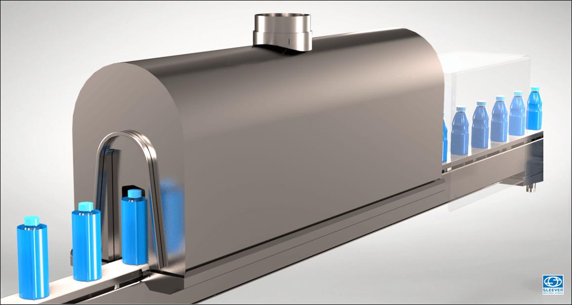 Un tunnel de rétraction à consommation énergétique réduite