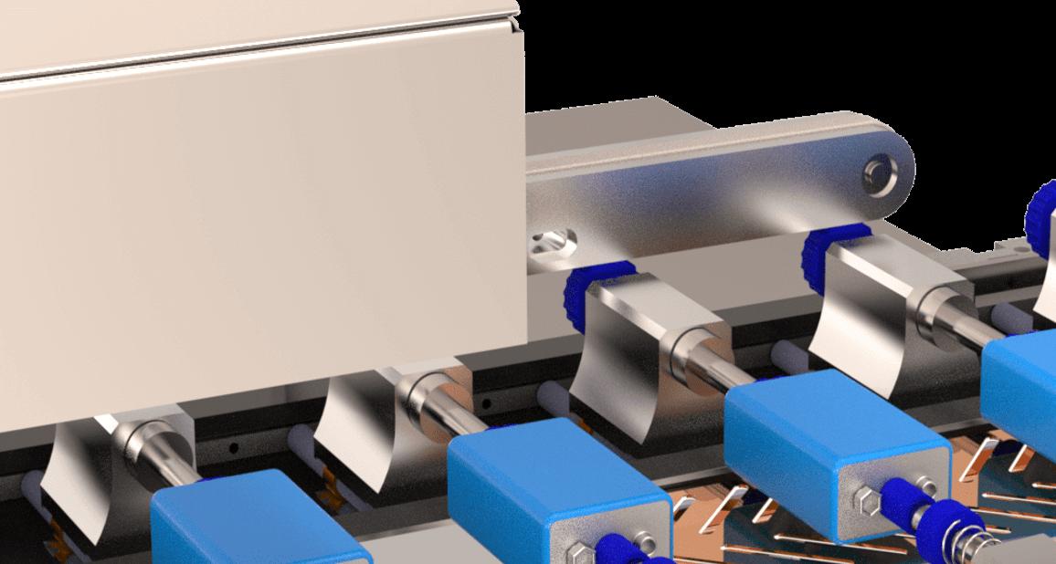 Un Module de finition affine la pose du Sleeve intégral dans les parties les plus difficiles à atteindre lors de formes complexes de produits