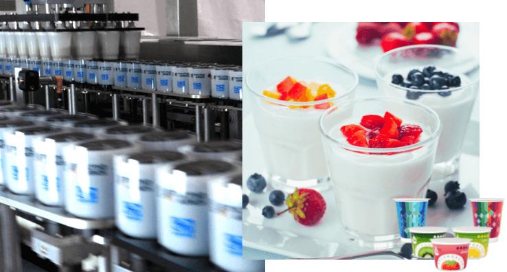 Une Machine de conditionnement pour l'étiquetage qualitatif et différencié de pots alimentaires