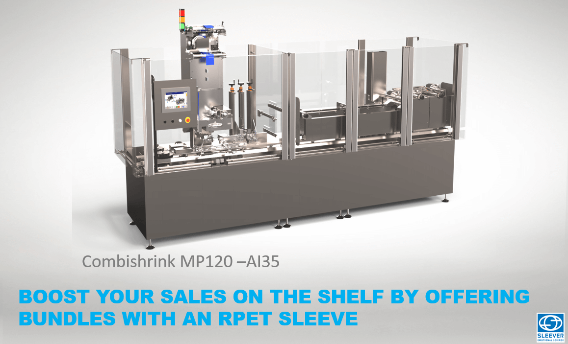 The Combishrink MP120 packaging machine for your bundling operations