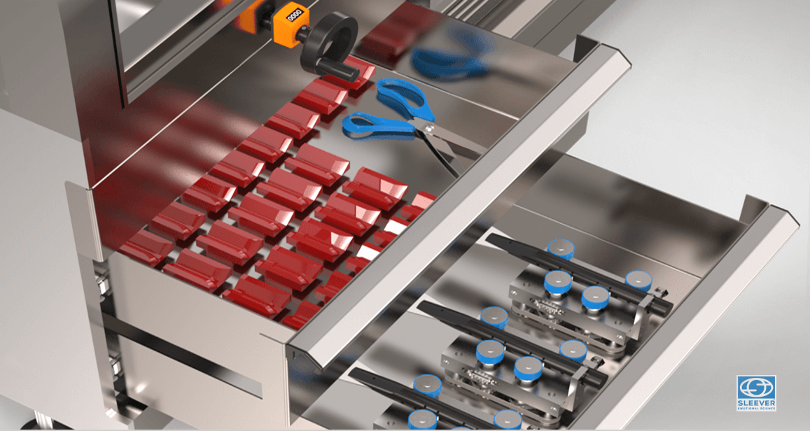 Ergonomic tool storage drawers to speed up production changeovers