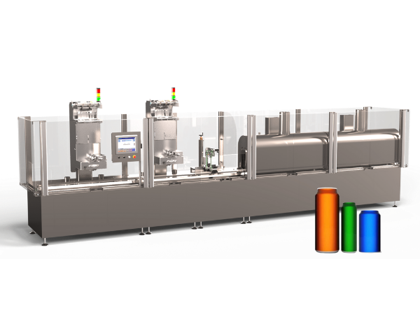 High speed can sleeving equipment offering  the best yield to recyclers.