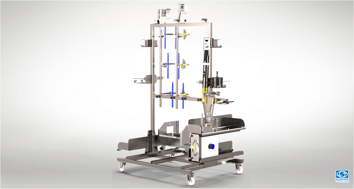 A mobile tool trolley allows to secure and organize the tools necessary for the production
