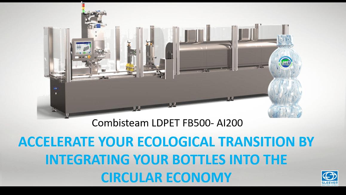 La Machine Combisteam LDPET FB500 pour accélérer votre transition écologique