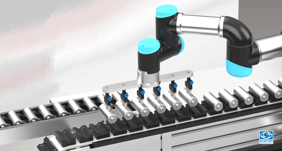 Chargement automatique des produits et objets par un Bras robotisé
