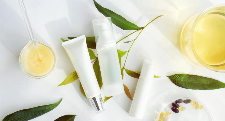 Packaging of natural beauty products