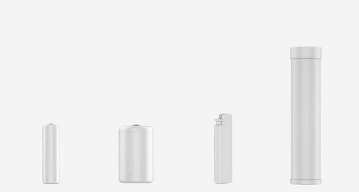 Formes de récipients de petits produits pouvant recevoir un Sleeve rétractable