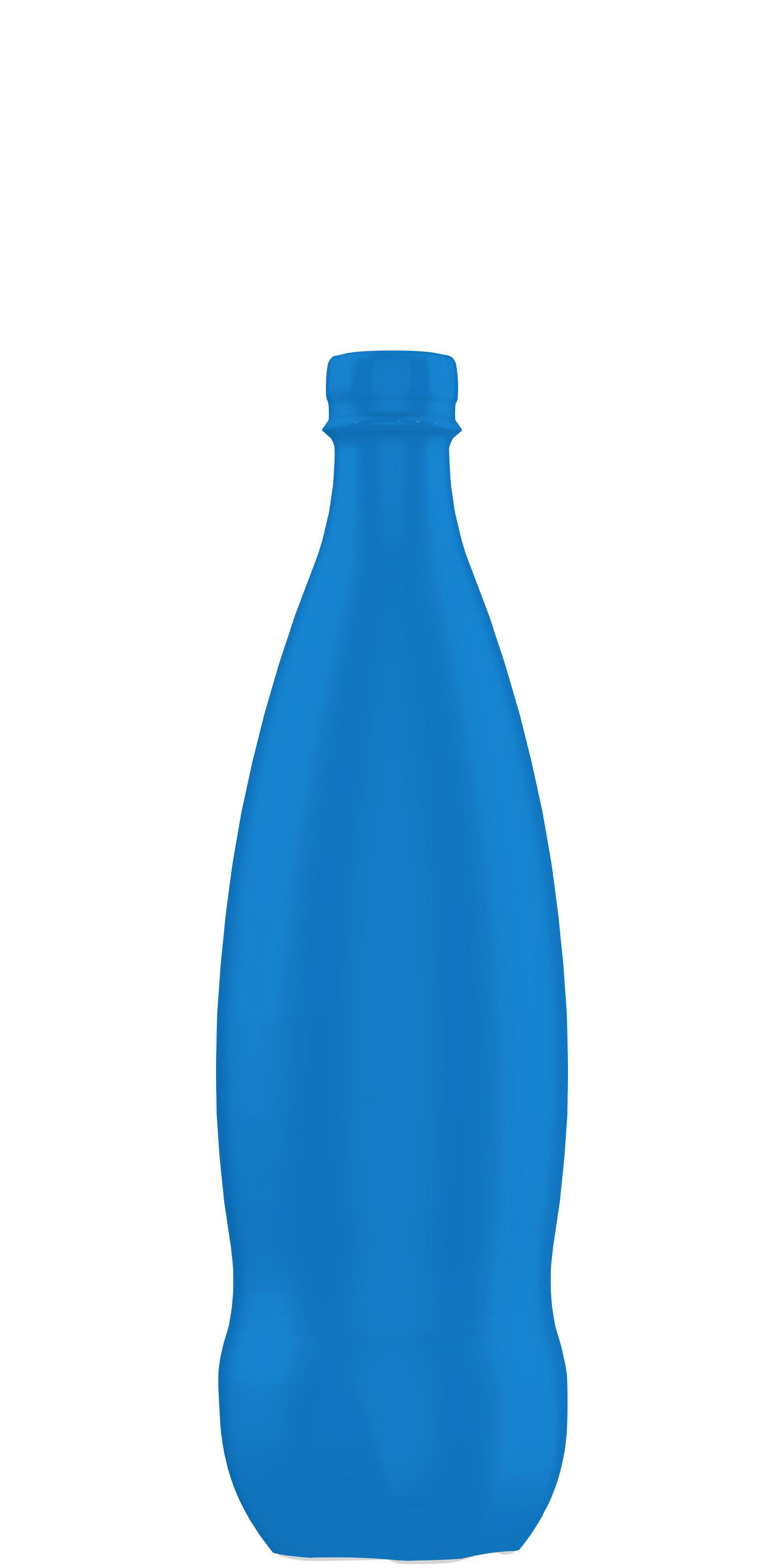 Packaging shape of soda 50cl to 1.5L
