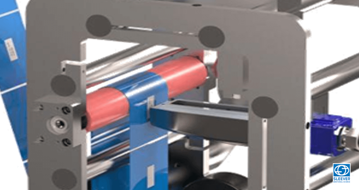Shrink sleeve label marking module for printing customization
