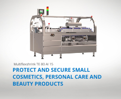 The packaging machine for your horizontal small products' packaging operations