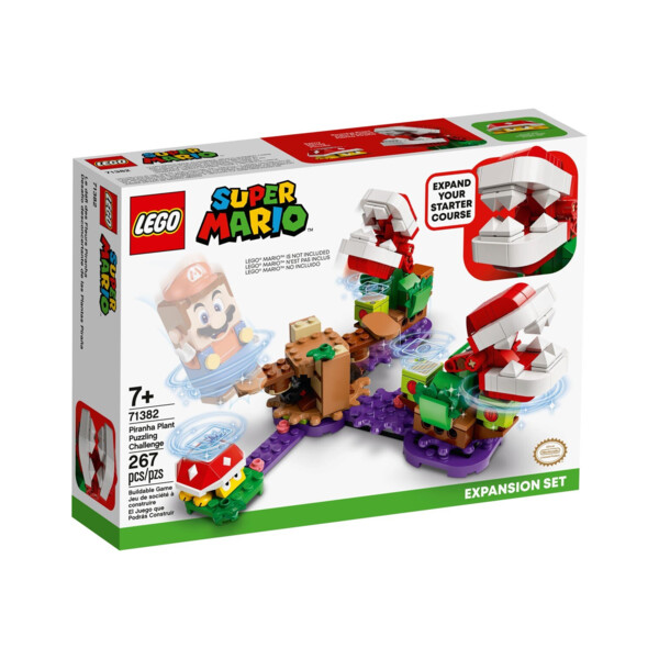 Ensemble d'extension Le défi de la Plante Piranha 71382 | LEGO® Super Mario™