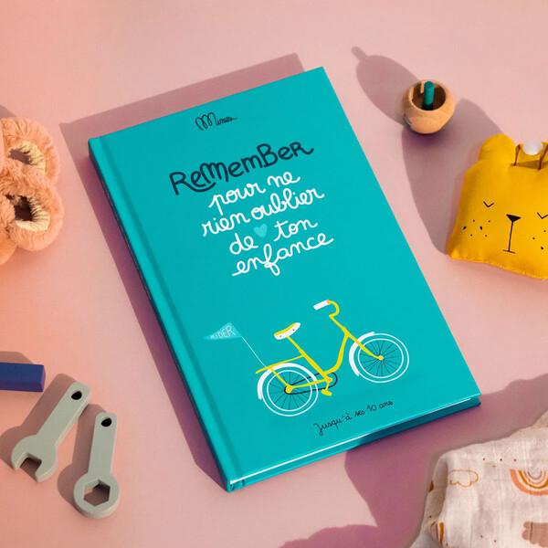 Cahier de souvenirs d'enfance