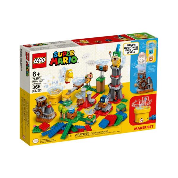 Set de créateur Invente ton aventure 71380 | LEGO® Super Mario™