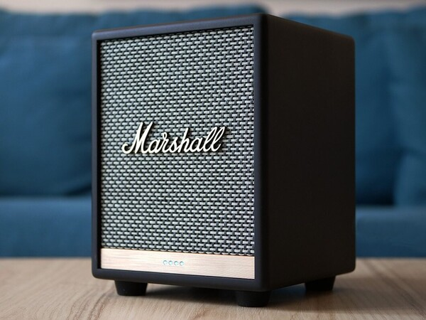 Enceinte Bluetooth Uxbridge - Google voice Noir Marshall Design