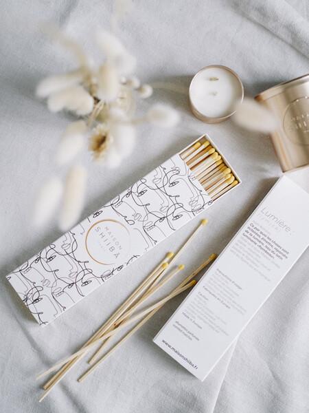 Allumettes Parfumées au Bois de Oud | Bougies Maison Shiiba