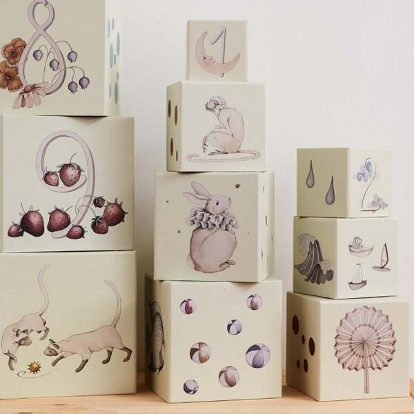 Cubes à empiler gigogne - Le Petit Florilège - Enfants