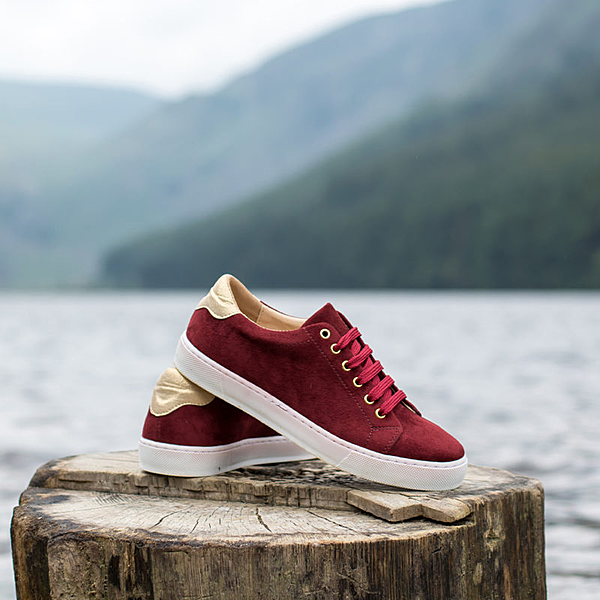 Vegan sneakers in high quality vegan leather - Minuit sur Terre