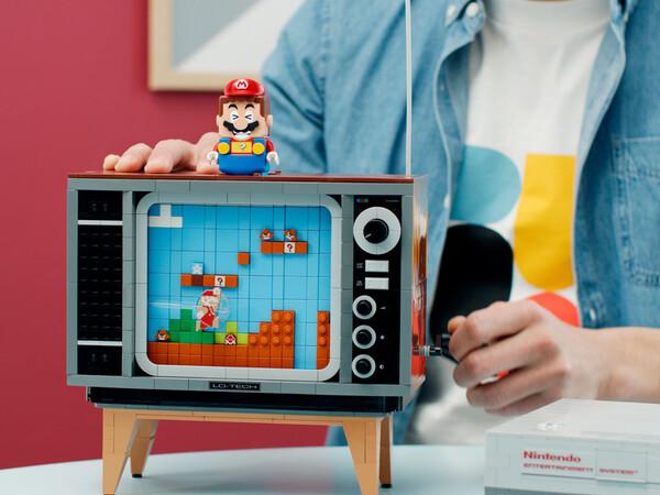 Nintendo Entertainment System™ 71374 | LEGO® Super Mario™ | Boutique LEGO® officielle FR