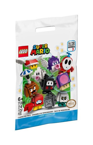 Pack surprise de personnage – Série 2 71386 | LEGO® Super Mario™