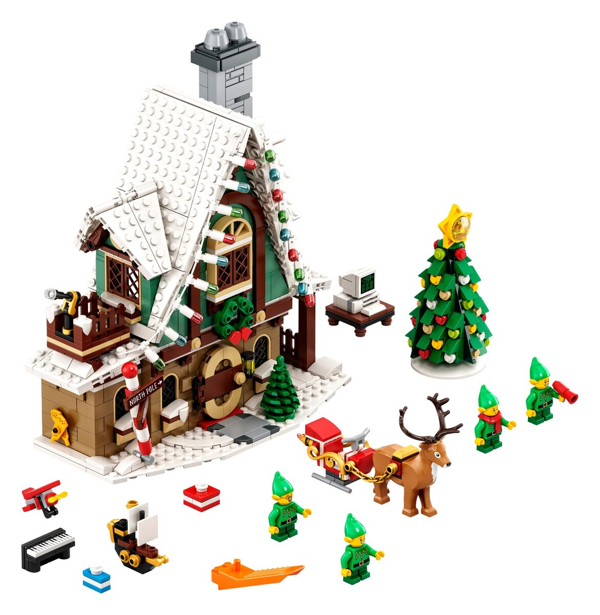 Le pavillon des elfes 10275 | Divers | Boutique LEGO® officielle FR