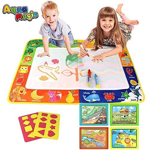 Puz Toy Cadeaux Pour Les Filles 2 4 Ans Aqua Magique Doodle 75 50cm Tapis