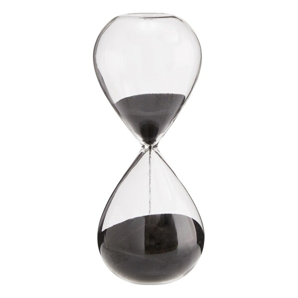 Sablier en verre 10 minutes Madam Stoltz Design Adulte