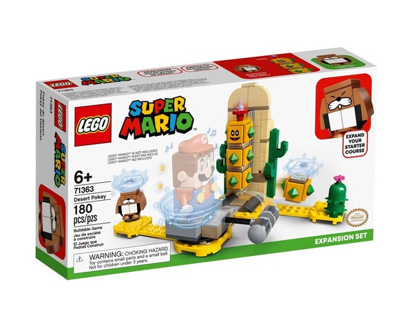 Ensemble d'Extension Désert de Pokey 71363 | LEGO® Super Mario™