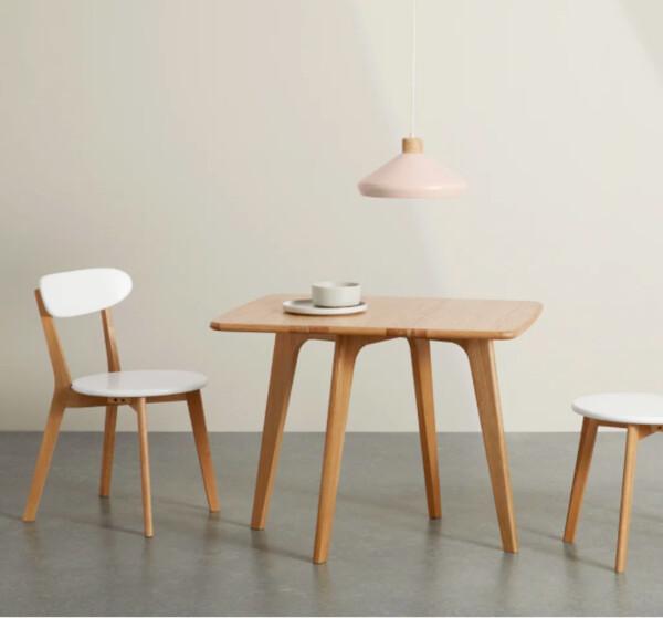 Fjord, table à rabats rectangulaire 2 à 4 personnes, chêne | MADE.com
