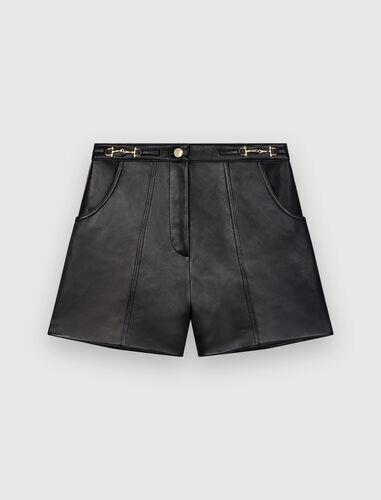 Short en cuir