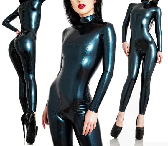 Latex Catsuit - Standard Design - Made to Measure - Skin-tight