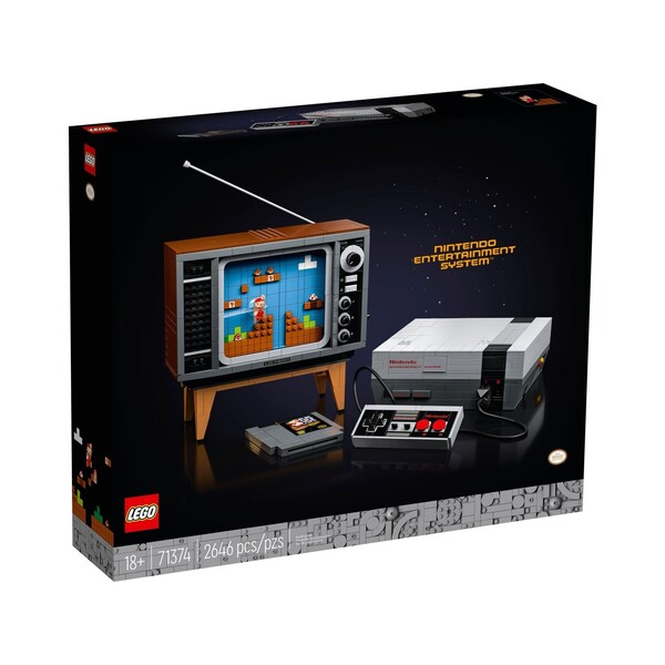 Nintendo Entertainment System™ 71374 | LEGO® Super Mario™