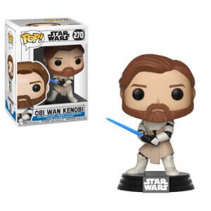 Figurine Pop! Obi Wan Kenobi - Star Wars Clone Wars