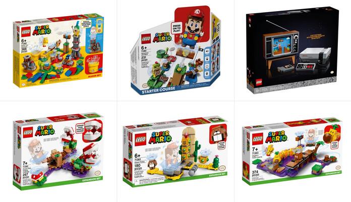 Sélection LEGO® Super Mario