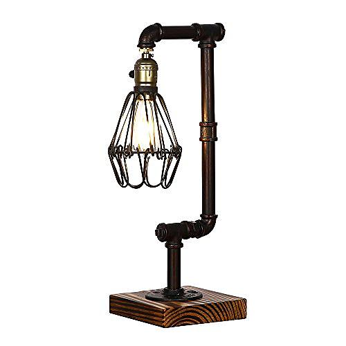 Tomons Décoration Lampe de Table LED Lampe de Bureau Salon