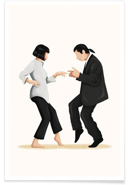 Affiche par Nour Tohme - Pulp Fiction