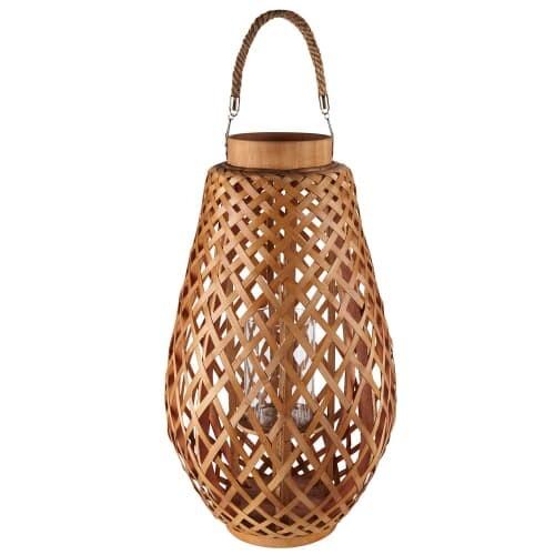 Lanterne en bambou et corde | Maisons du Monde