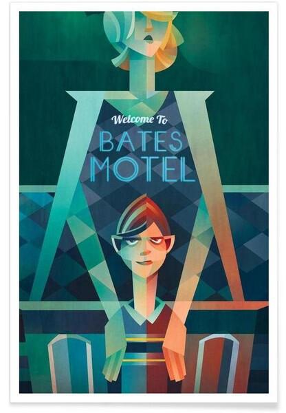 Bates Motel affiche par Sean Loose