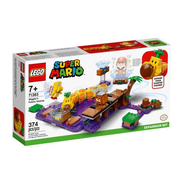 Ensemble d'extension Le marais empoisonné de Wiggler 71383 | LEGO® Super Mario™