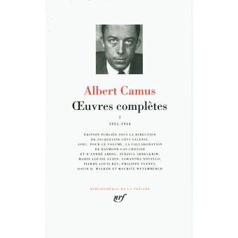 Œuvres complètes de Camus
